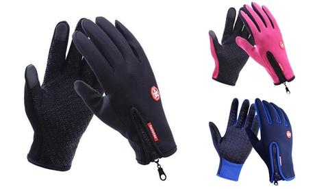 1 o 2 pares de guantes táctiles de ciclismo