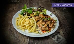 Asado Grill House: Kuchnia libańska: zestaw Shish Tauk z dodatkami dla 2 osób za 28 zł i więcej opcji w Asado Grill House (-42%)