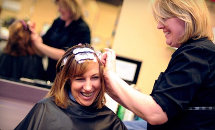 Haircut Package Including Haircut, Style and Conditioning Treatment (a $57 value) - Nikki at Changes Hair Design in Haslett