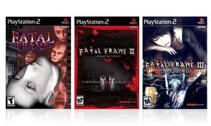 Fatal Frame Trilogy for Playstation 2