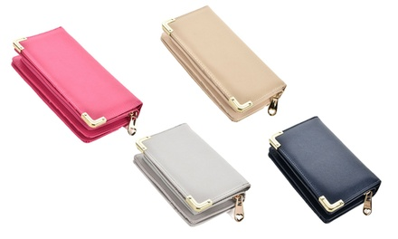 Women's MetalTrim Wallet
