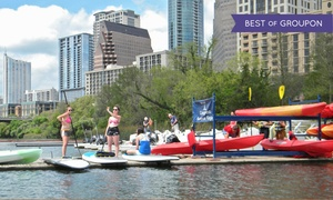 Up to 59% Off Kayak or Paddleboard Rentals at Congress Avenue Kayaks, plus 6.0% Cash Back from Ebates.