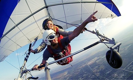 Tandem Hang-Gliding Flight Package for One or Two at The Florida Ridge Air Sports Park (Up to 65% Off)