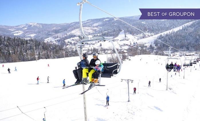 Zima i Wisła czyli karnet na rodzinny stok narciarski Klepki w Wiśle od 39,99 zł (do -45%)