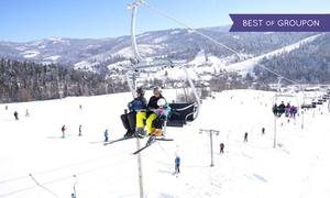 Ośrodek Narciarski Klepki w Wiśle Malince: Zima i Wisła czyli karnet na rodzinny stok narciarski Klepki w Wiśle od 39,99 zł (do -45%)