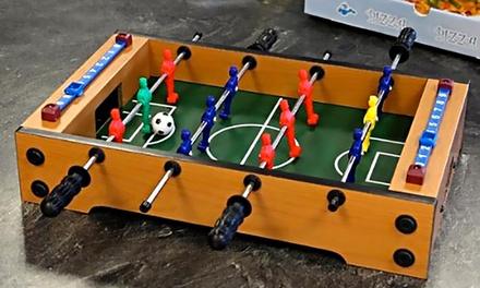 Mini calcio balilla da tavolo groupon goods - Calcio balilla da tavolo ...