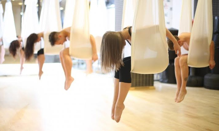 Le Spa Fit - Le Spa Fit: One, Three, or Five Aerial Yoga Sessions at Le Spa Fit (Up to 69% Off)