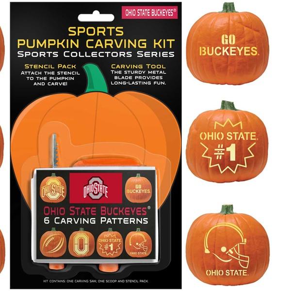 Ncaa Pumpkin Carving Kit Groupon Goods