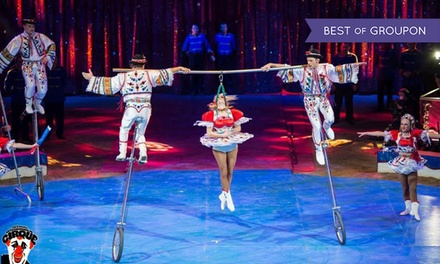 Planet Circus, Child, Adult or Family of Four Ticket, 29 March 2 April in Chester