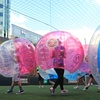Zorb Bubble Football Game