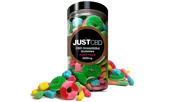 CBD Gummies Party Pack from JustCBD (3000mg)