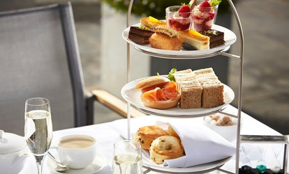 image for Afternoon Tea with Optional Champagne for Two at Barnett Hill