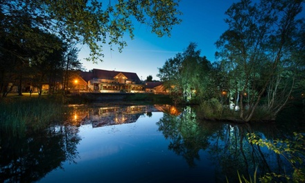 Spa Pass, Two Treatments, Lunch and Glass of Bubbly for One or Two at Chevin Country Park Hotel