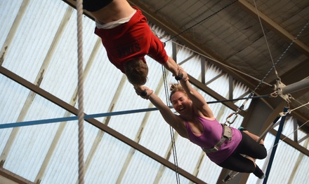 $49 for a Two-Hour Flying Trapeze Class with Photo CD at Sydney Trapeze School, Two Locations ($100 Value)