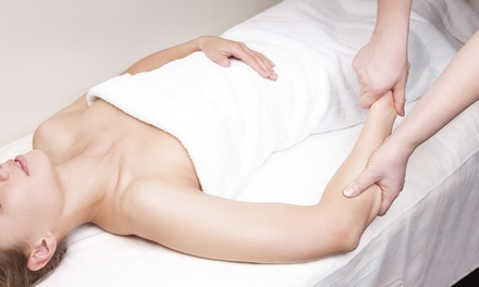 A 60-Minute Deep-Tissue Massage at Natural Health Massage Therapy (38% Off)