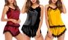 Women's Satin Sleepwear Set