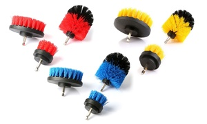 Power Scrubber Drill Cleaning Brush Set (3-Piece) (Drill Not Included)