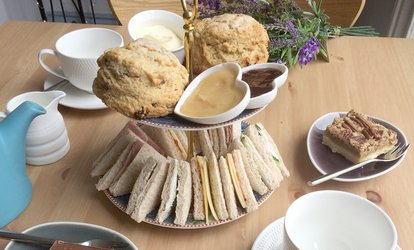 image for Afternoon Tea for Two or Four at Dinghams (36% Off)
