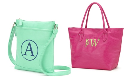 Personalized Crossbody Bag or Tote from Luce Mia
