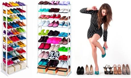 Hasta 3 zapateros con capacidad para 30 pares de zapatos