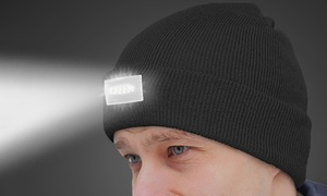 3f722f9dba3de LED Unisex Headlamp Beanies (2-Pack)