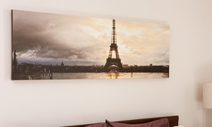 Collage.com: Custom Panoramic Canvas Prints from Collage.com (Up to 84% Off). Four Options Available.