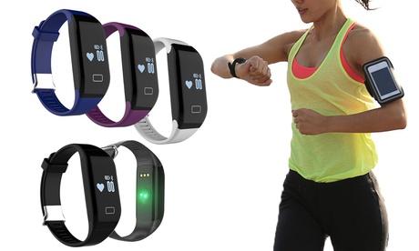 Pulsera deportiva con bluetooth y frecuencia cardíaca Wee'Plug