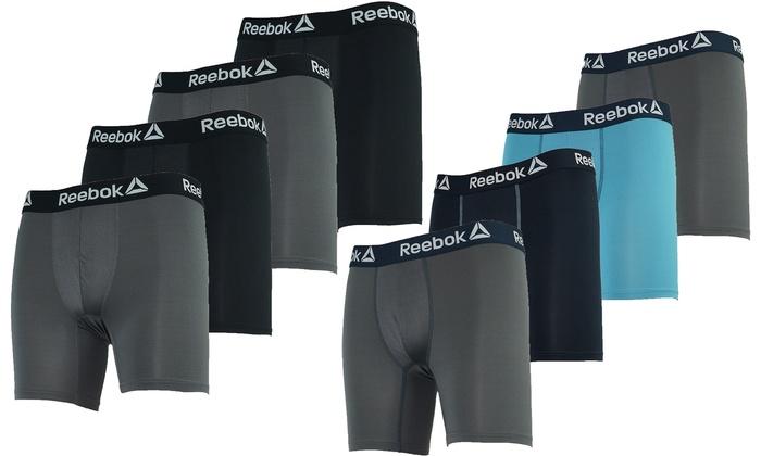 Reebok Men's Performance Boxer Briefs (3 or 4 Pack) | Groupon