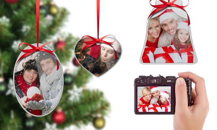Custom Photo Ornaments from $4.99 by Printerpix (Up to 91% Off)
