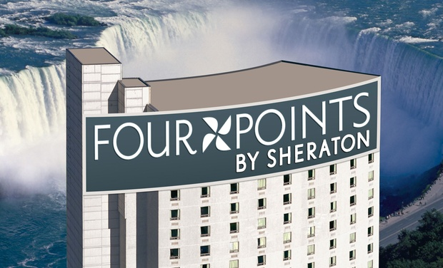 four points by sheraton niagara falls fallsview groupon. Black Bedroom Furniture Sets. Home Design Ideas