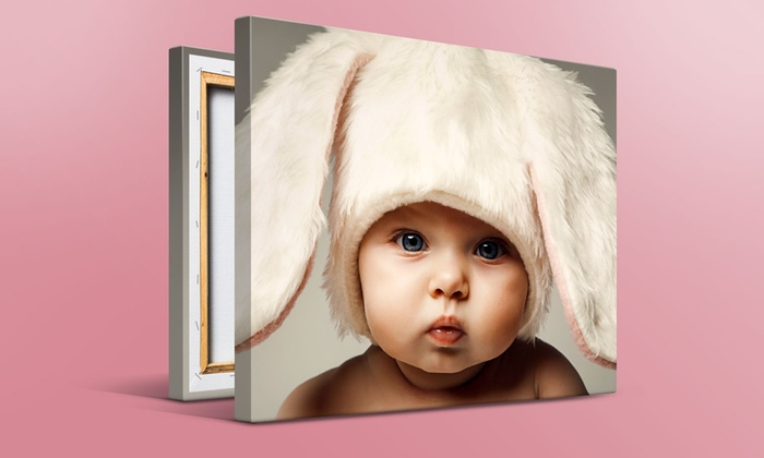 """Printerpix: One, Two, Three, or Four Personalized 16"""" x 20"""" Custom Canvas Prints from Printerpix (Up to 89% Off)"""