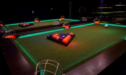 Helmond: één uur footpool inclusief bittergarnituur voor maximaal 4 personen bij Snookertown
