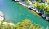 Patou Bateau - Patou Bateau: Descente de l'Ardèche en canoë parcours de 8, 24 ou 32 km pour 2 personnes dès 34,90 € avec Patou Bateau