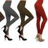 Women's Slimming High-Waist Fleece Leggings (5-Pack)