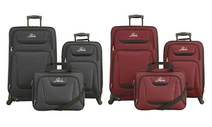 Skyway Discovery Softside Spinner Luggage Set (3-Piece)