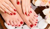 Intrend Chic Salon - Spring Mont: One Spa Manicure, Pedicure, or Mani-Pedi at Intrend Chic Salon (Up to 36% Off)