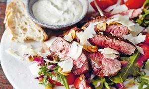 Ristorante Cavallino: Italienisches 3-Gänge-Menü mit Tagliata oder Saltimbocca für 2 Personen im Ristorante Cavallino (32% sparen)