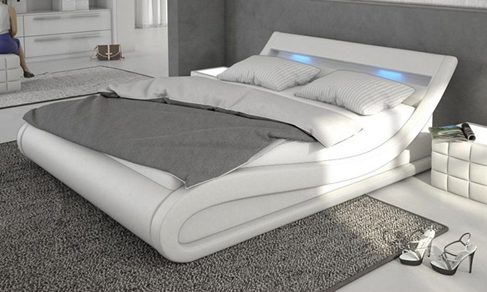 Letto Conny con LED | Groupon