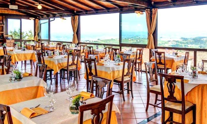 Monferrato Hotel Ristorante Belvedere 1 Notte In Camera Matrimoniale Con Colazione E Cena Per 2 Persone