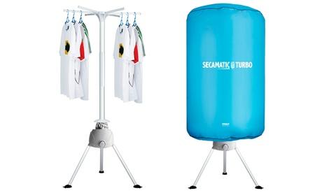 1 o 2 secadoras portátiles de aire caliente Turbo
