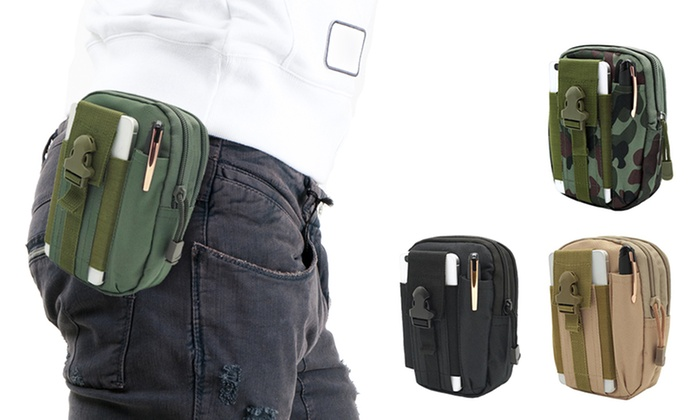 bbab6a299db Sacoche ceinture pour homme | Groupon Shopping