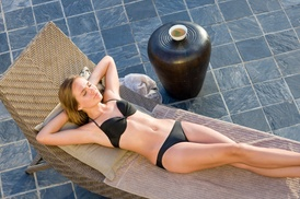 Sun Kissed Salon and Spa: $18 for $50 Worth of Services — Sun Kissed Tanning Salon