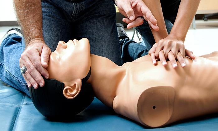 Alberta Health and Safety Training Institute - Multiple Locations: C$39 for CPR and AED Certification Course at Alberta Health and Safety Training Institute (C$80 Value)