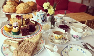 The Kitchen Croxley Ltd: Vintage Afternoon Tea for Two or Four at The Kitchen Croxley (Up to 40% Off)