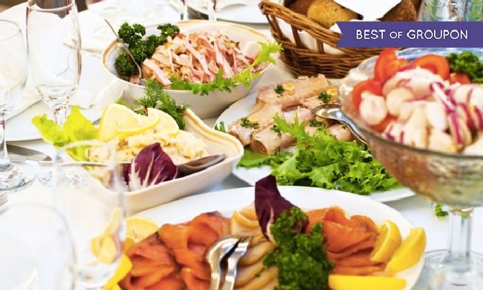 ASIN am Mauerpark (Thai Cuisine) - Restaurant Asin: All-you-can-eat-Brunch am Sonntag mit Sekt f. Zwei od. Vier im Restaurant Asin am Mauerpark (Thai Cuisine) (39% sparen*)
