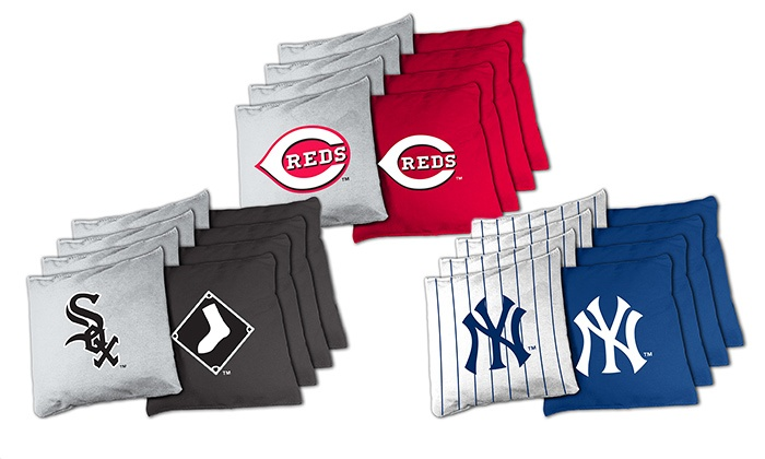 MLB XL Beanbag Set for Cornhole (8-Piece)