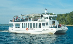 Les Croisieres du Lac Champlain: Cruise for Two, Four or Six on Lake Champlain with Venise-sur-le-Lac Resort (Up to 45% Off)