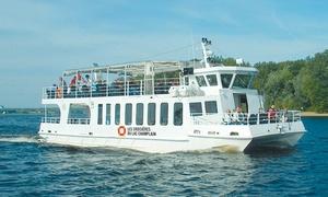 Les Croisieres du Lac Champlain: Croisière pour 2, 4 ou 6 personnes avec le Centre de villégiature de Venise-sur-le-Lac (jusqu'à 45 % de rabais)