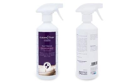 Deodorant en desinfectiespray voor je matras 500 ml.