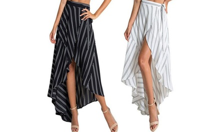 Maxi Skirt with Striped Print: One ($19) or Two ($29)